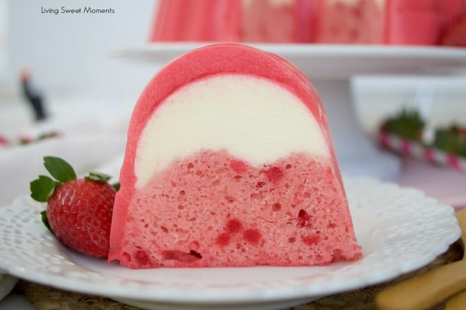 Strawberry Flan Jello Cake Recipe
