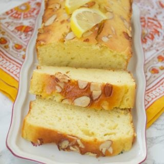This moist and delicious Sugar Free Lemon Loaf recipe has only 136 calories per slice and is diabetic friendly. Perfect for a sugar free dessert or brunch.