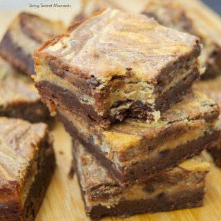 Decadent Peanut Butter Cheesecake Brownies
