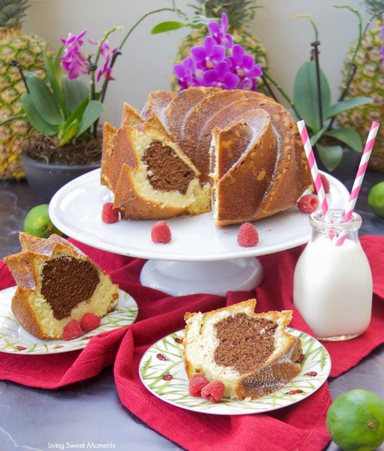Gingerbread Bundt Cake With Vanilla Glaze Living Sweet