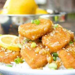 Easy Crispy Orange Chicken