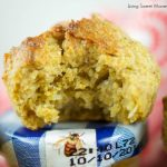 These gluten free mango coconut muffins are made with chia and oats and are low in fat and sugar. The perfect healthy muffin recipe for breakfast or snack.