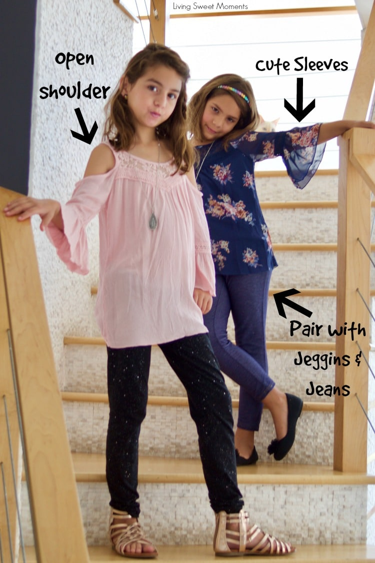 Check out the new JCPenney 2017 Back To School Styles for girls. Mix & Match tops and bottoms to suit your child's personality. From the cool to romantic