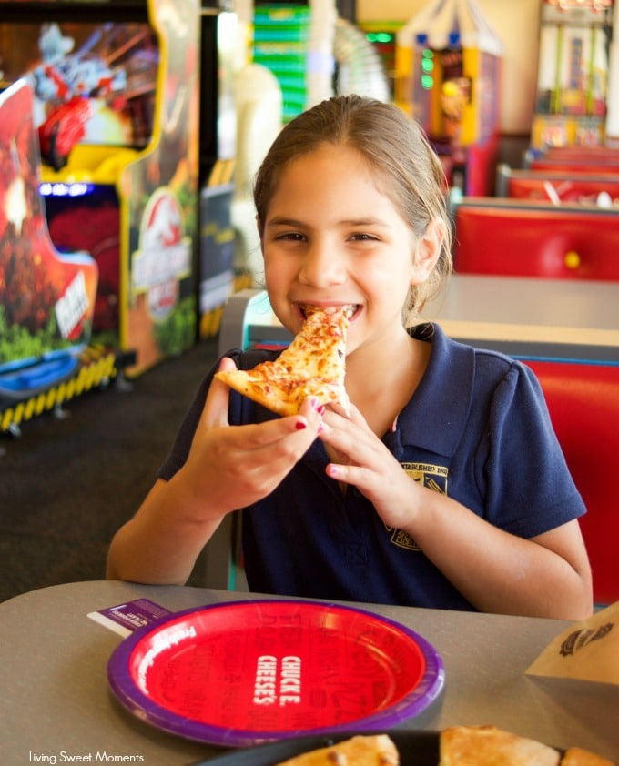 If you think that Chuck E. Cheese is just about letting your kids play and have fun, you're missing out. Taste their new and improved menu, you'll love it!