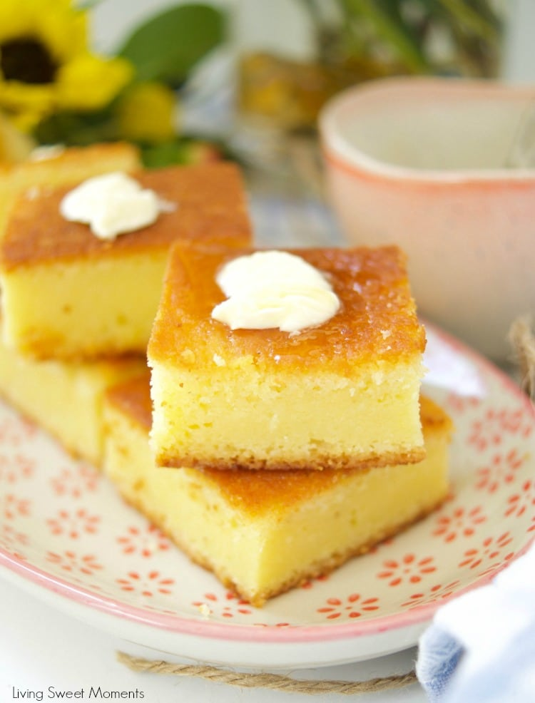 This Super Moist Cornbread Recipe is super easy to make, rich, tender, and flavorful. Cut it into squares and is perfect to serve with any meal