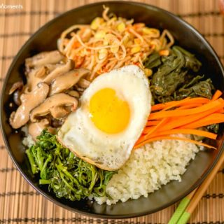 Low-Carb Cauliflower Bibimbap
