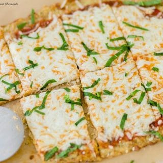 Low-Carb Cauliflower Pizza Crust