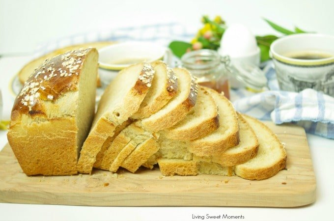 This soft and delicate Honey Beer Breadrecipe has a wonderful taste and aroma. Perfect when served warmed with butter or as toast in the morning