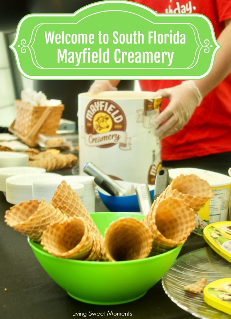 At last! Mayfield Creamery Debuts in South Florida with an array of delicious ice cream flavors made with fresh cream from their own dairy farm. Welcome!