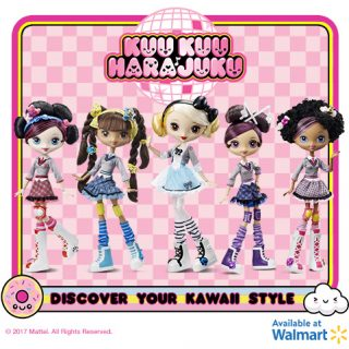 Kuu Kuu Harajuku all four dolls