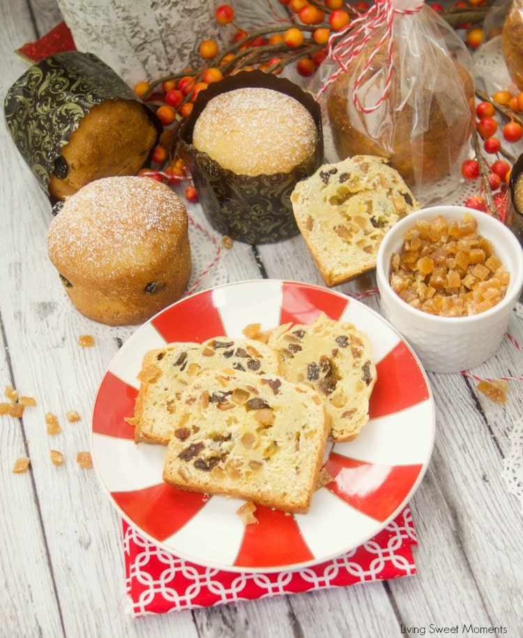 This easy Easy Mini Panettone recipe is delicious, flavorful, and quick to make. They make inexpensive DIY Edible Holiday gifts