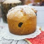 This easy Easy Mini Panettone recipe is delicious, flavorful, and quick to make. The mini panettone is sprinkled with powdered sugar