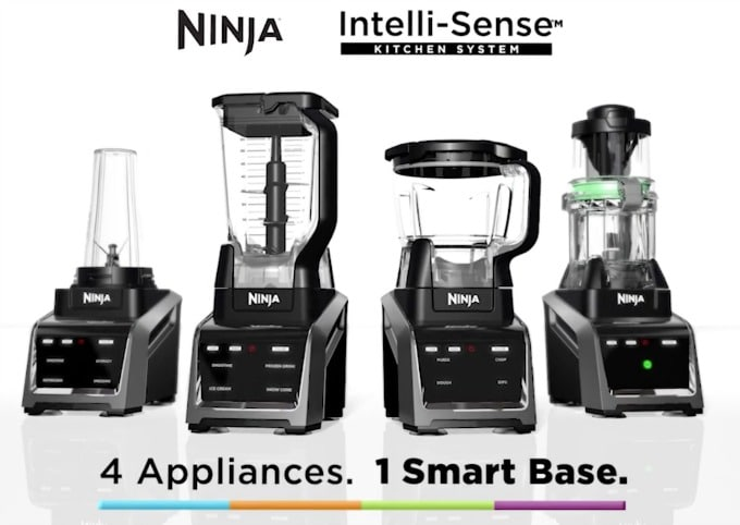 easy mini panettone Ninja® Intelli-Sense™ Kitchen System with Auto-Spiralizer™