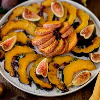 Sugar Roasted Sweet Potatoes and Squash