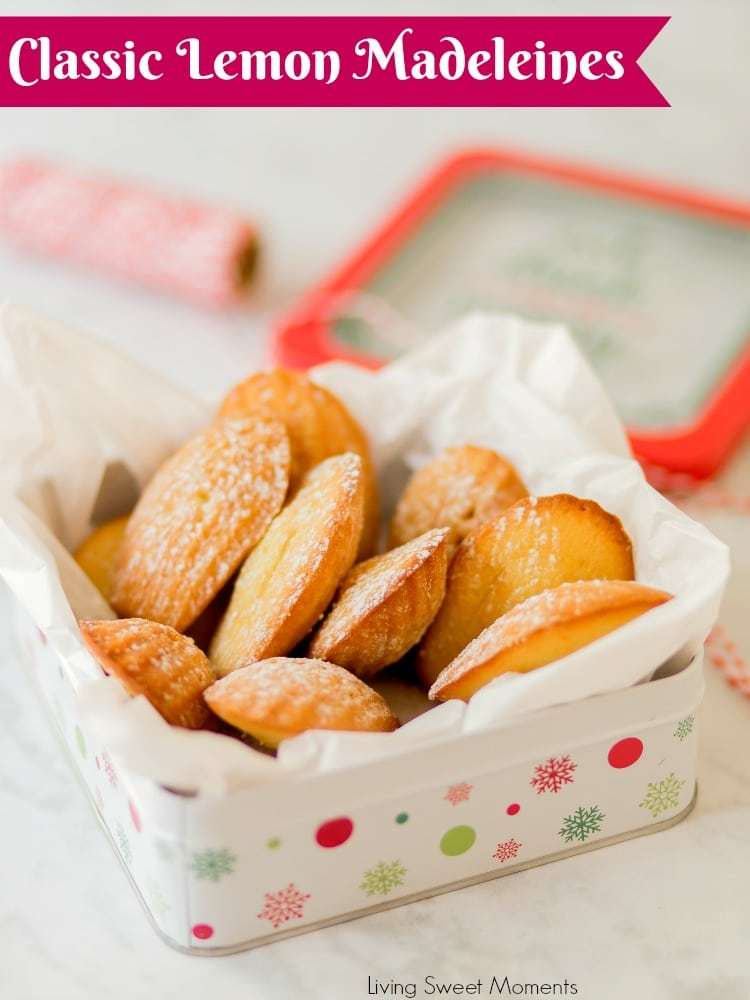 These Classic Lemon Madeleines cookies are soft, buttery, & delicious. Enjoy delicate French cookies that are super easy
