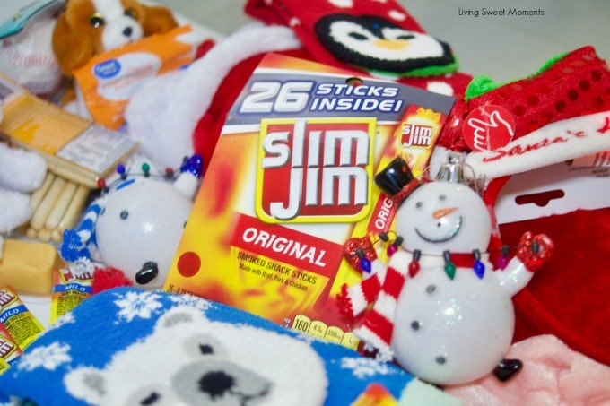 With the holidays rapidly coming up, here's a list of Stocking Stuffer Ideas For Kids t\- slim jim, barrettes, fruit snacks