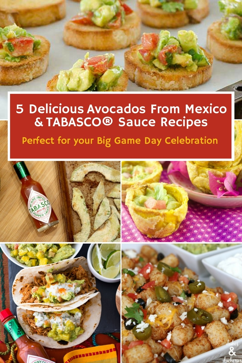 avocado recipes perfect for game day