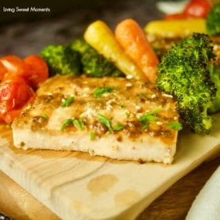 Honey Mustard Sheet Pan Salmon And Broccoli