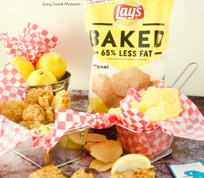 This crunchy and delicious Potato Chip Crusted Fish recipe is ready in no time. Made with lays baked potato chips