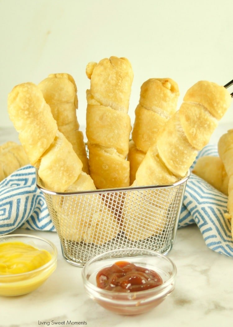 Fried until crispy golden with a cheesy center, try the Best Tequeños Recipe on the planet! Make them for parties and celebrations
