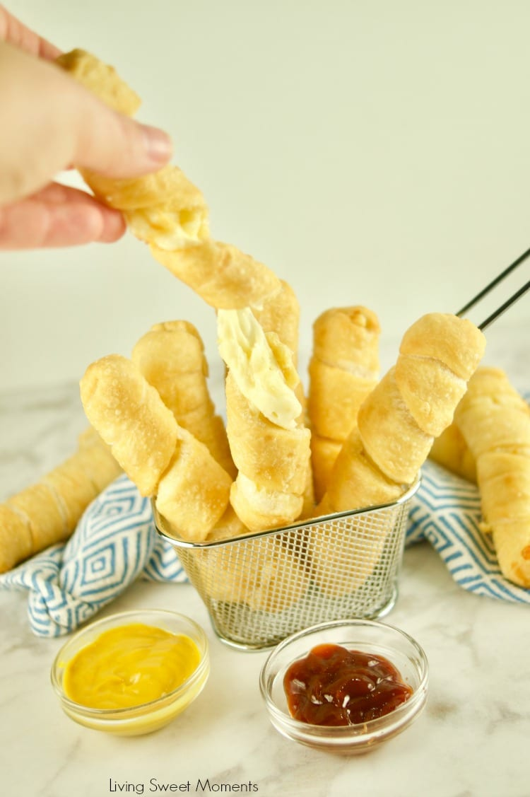 Fried until crispy golden with a cheesy center, try the Best Tequeños Recipe and you won't be disappointed. Check out how melty the cheese is