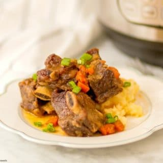 super tender instant pot short ribs recipe