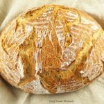 This crusty and delicious Instant Pot Sourdough Bread makes a beautiful loaf in no time