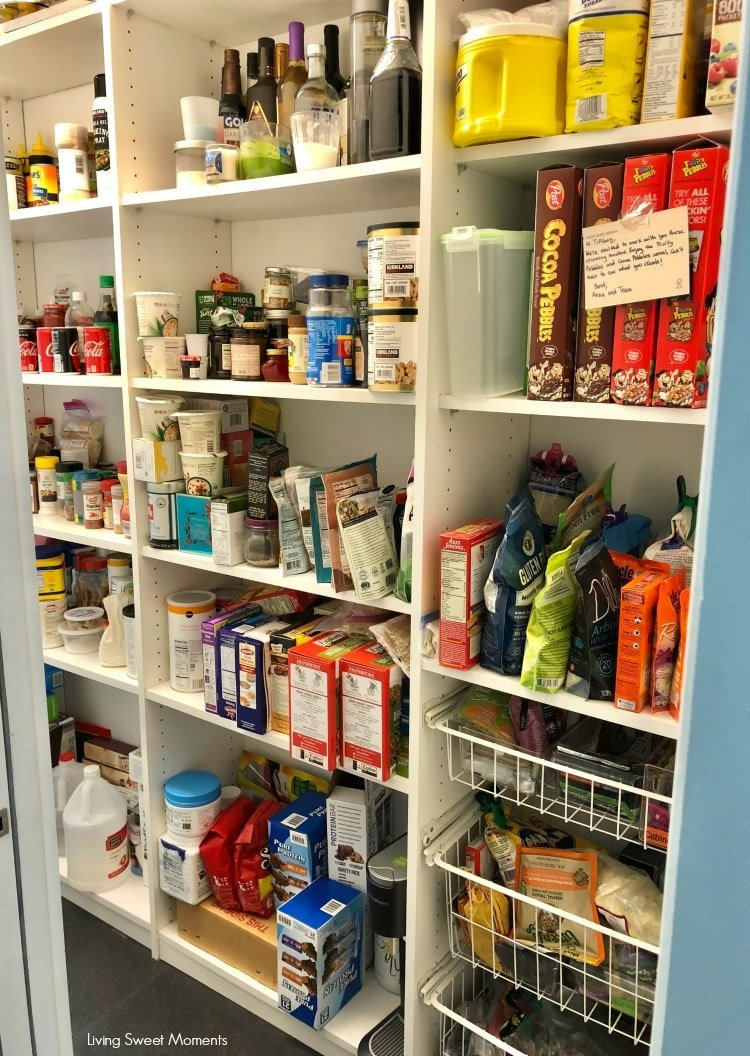 Here are some easy Pantry Organization Ideas here's a look at the before. I started with a messy pantry