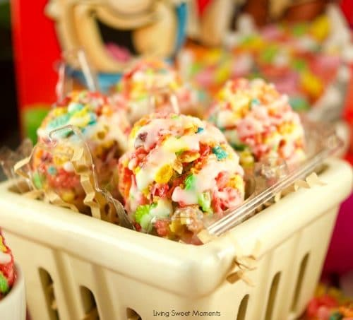 Lemon glazed fruity pebbles eggs living sweet moments forumfinder Image collections