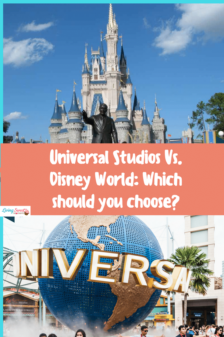 Universal Studios Vs. Disney World: Which should you choose? - Many factors should be taken in account when comparing the top 2 theme parks in Orlando, Florida. Wait times, costs and rides.