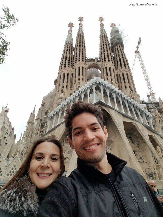 when in barcelona for the first time do not miss La Sagrada Familia catholic church