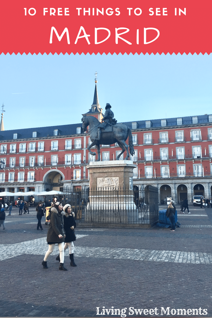 I love this city! It has excellent food, monuments, museums, and views. If you're traveling there soon, here are my top 10 Free Things to See In Madrid