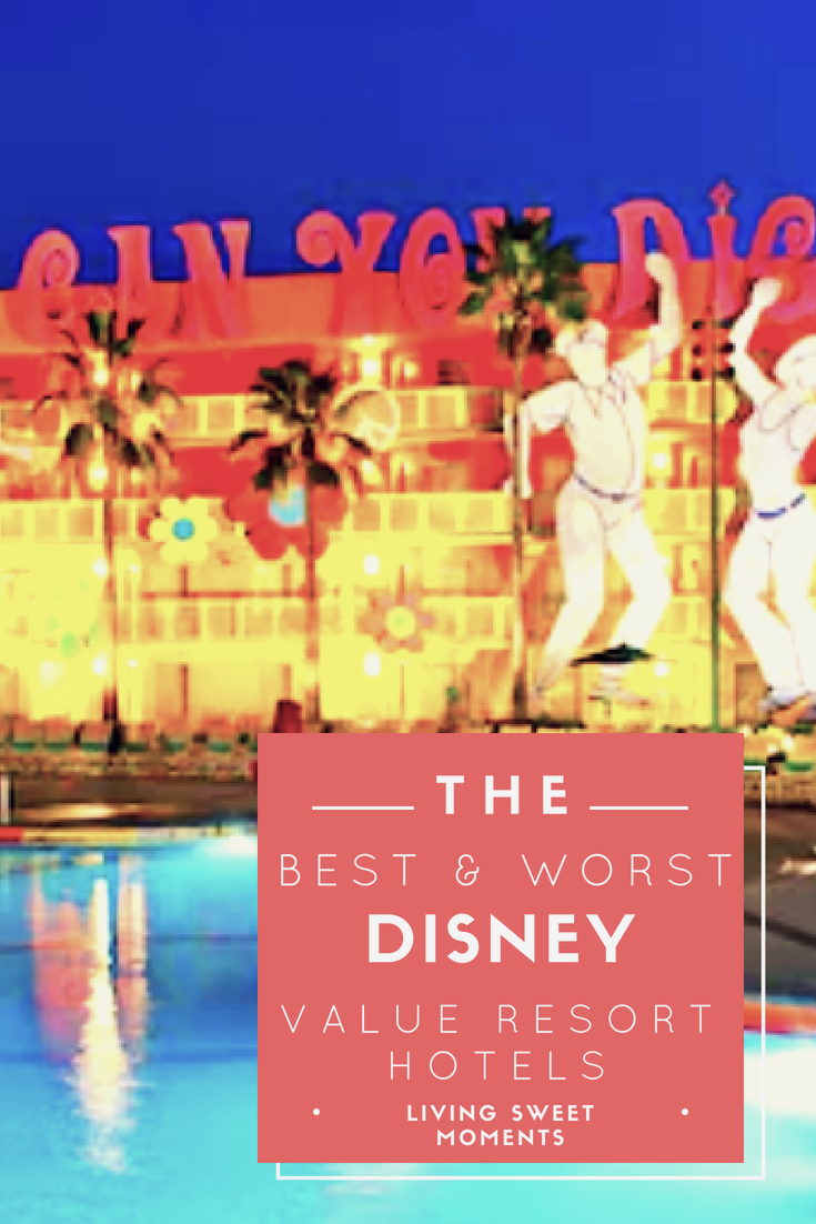 Traveling to Disney soon? If you don't know where to stay, then check out the Best & Worst Disney Value Resort Hotels guide to choose the right one for you