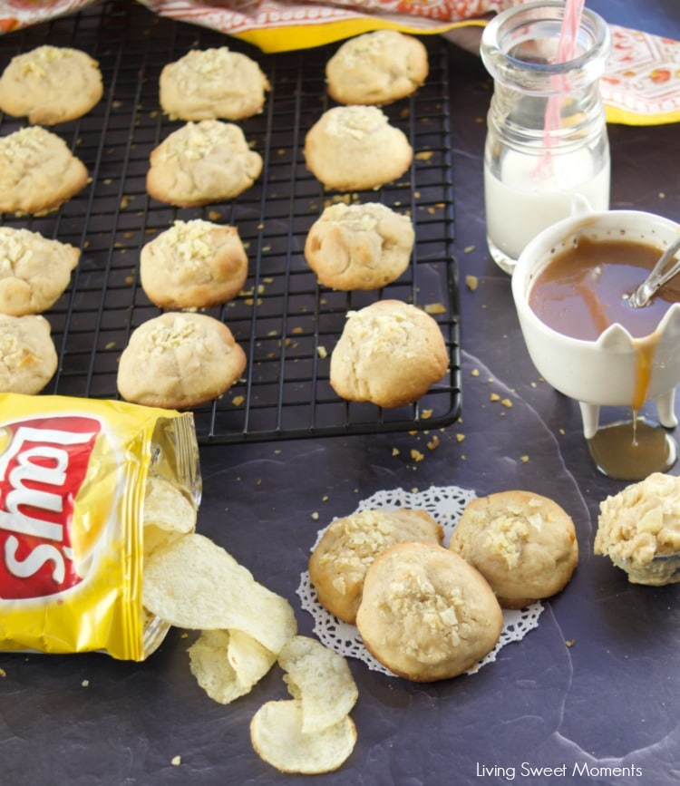 These delicious Potato Chip Cookies are sweet and salty in one bite made with lay's potato chips