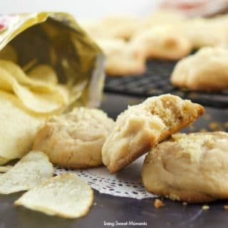 These delicious Potato Chip Cookies are sweet and salty at the same time with a nice butterscotch flavor on the background. Here some ideas for snacks this summer