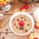 Check out this amazing recipe for Chocolate Cherry Zoats (aka Zucchini Oatmeal) by the talented Devin Alexander from her new cookbook You Can Have It!