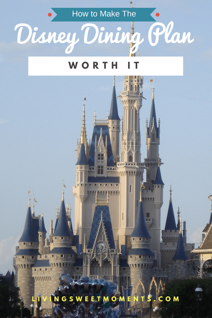 Here are few tips on how to How to Make the Disney Dining Plan Worth it. We know how expensive eating at Disney can be, so maximizing our savings is a must.