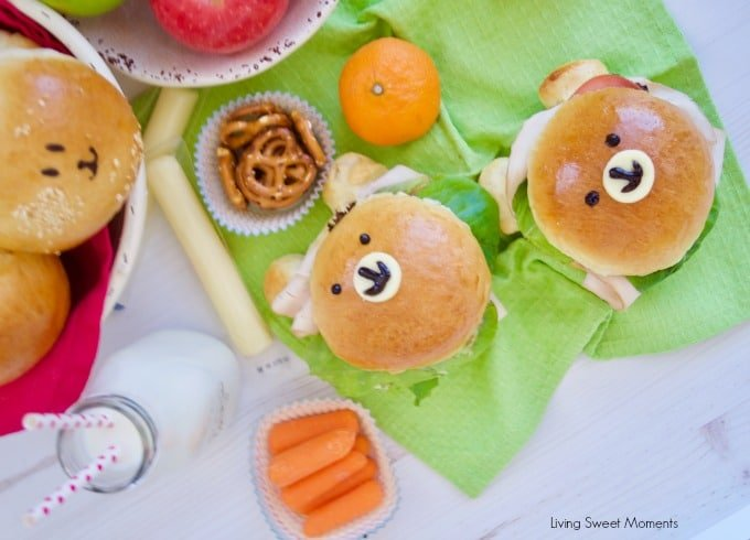 Check out how to make these delicious & adorable Teddy Bear Sandwich Buns made from scratch with ingredients bought from BJ's
