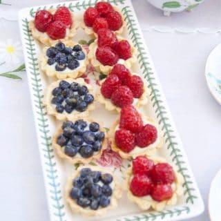 Elegant Mini Berry Tarts