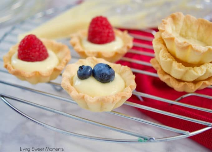 This delicious Vanilla Pastry Cream or Creme Patisserie recipe is creamy, easy to prepare, and is the perfect filling for donuts, cakes, pastries, and more.