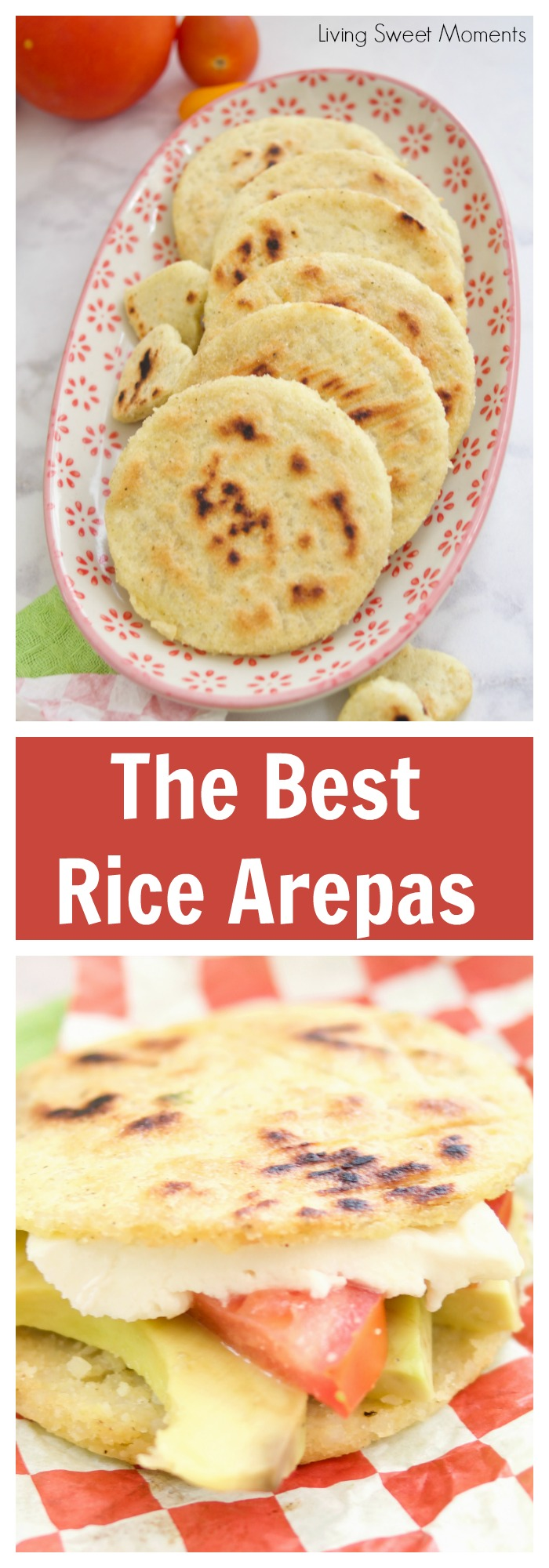Got any leftover rice? These delicious gluten-free crispy rice arepas aremade to be stuffed with your favorite fillings. Ideal for breakfast & dinner. #ad #VigoTakesYouHome