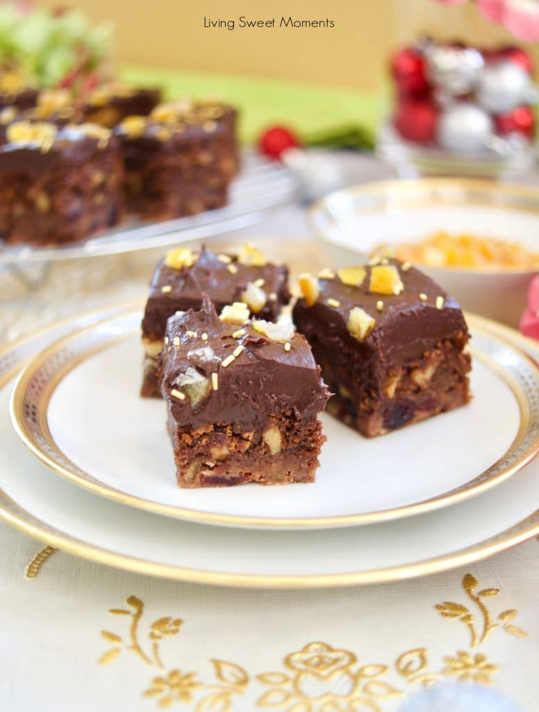 The only dessert you need! These delicious Cranberry Orange Brownies are swirled and baked with fudge batter and then topped with chocolate icing.