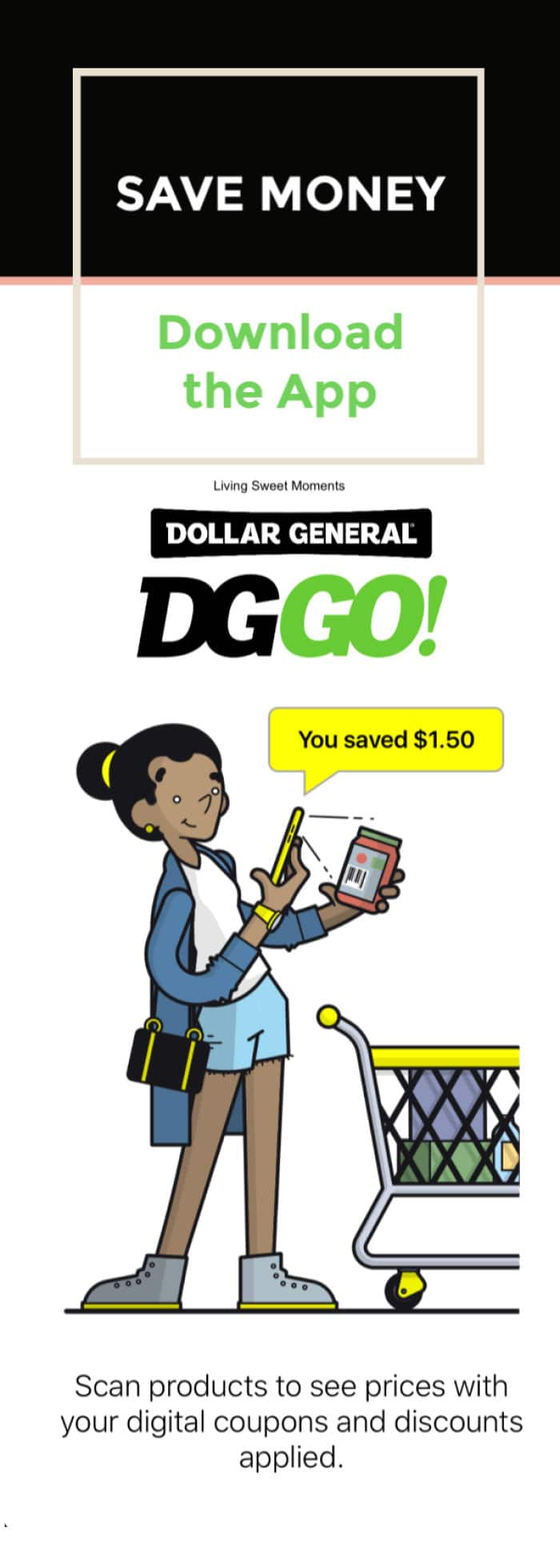 Save Time and Money with the DG GO! App