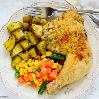 An amazing family friendly quick dinner idea! This delicious Sheet Pan Breaded Chicken and veggies requires little prep and is perfect for those busy nights