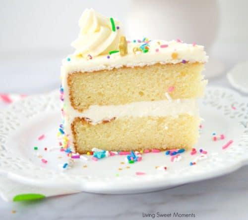 Super Moist Vanilla Cake Living Sweet Moments