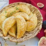 These delicious Fig & Cheese Empanadas are baked to perfection with a sprinkling of sesame seeds. Perfect to serve as fancy appetizers