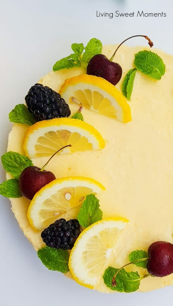 This delicious Lemon Chiffon Cake recipe is my favorite. It's light & tender while still retaining moisture. Perfect to serve with tea.